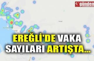 EREĞLİ'DE VAKA SAYILARI ARTIŞTA...