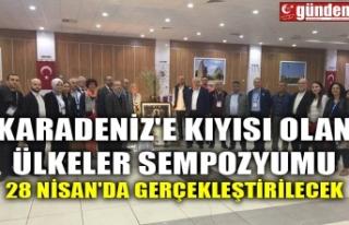 KARADENİZ'E KIYISI OLAN ÜLKELER SEMPOZYUMU...