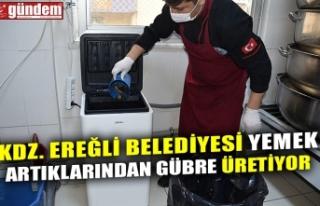 KDZ. EREĞLİ BELEDİYESİ YEMEK ARTIKLARINDAN GÜBRE...