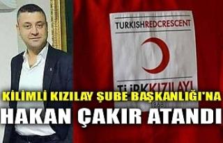 KİLİMLİ KIZILAY ŞUBE BAŞKANLIĞI'NA HAKAN...