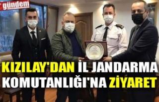 KIZILAY'DAN İL JANDARMA KOMUTANLIĞI'NA...