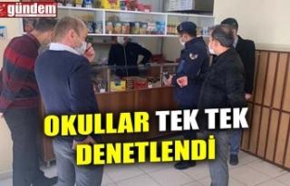 OKULLAR TEK TEK DENETLENDİ