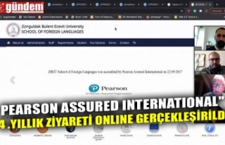 "PEARSON ASSURED INTERNATIONAL"" 4 .YILLIK ZİYARETİ..."