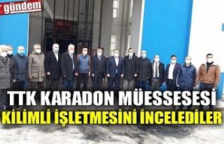 TTK KARADON MÜESSESESİ KİLİMLİ İŞLETMESİNİ...