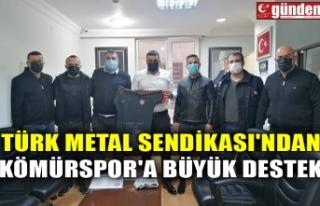 TÜRK METAL SENDİKASI'NDAN KÖMÜRSPOR'A...
