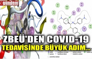 ZBEÜ'DEN COVID-19 TEDAVİSİNDE BÜYÜK ADIM...