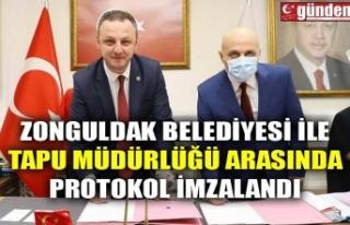 ZONGULDAK BELEDİYESİ İLE TAPU MÜDÜRLÜĞÜ ARASINDA...