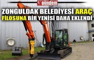 ZONGULDAK BELEDİYESİ ARAÇ FİLOSUNA BİR YENİSİ...