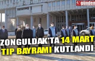 ZONGULDAK'TA 14 MART TIP BAYRAMI KUTLANDI