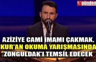 AZİZİYE CAMİ İMAMI ÇAKMAK, KUR'AN OKUMA...