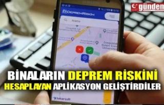 BİNALARIN DEPREM RİSKİNİ HESAPLAYAN APLİKASYON...