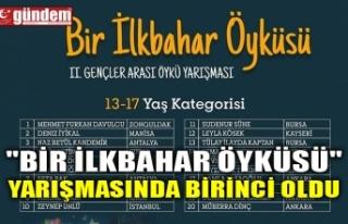 """""""BİR İLKBAHAR ÖYKÜSÜ"""" YARIŞMASINDA..."""