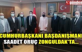 CUMHURBAŞKANI BAŞDANIŞMANI SAADET ORUÇ ZONGULDAK'TA...