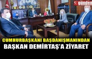 CUMHURBAŞKANI BAŞDANIŞMANINDAN BAŞKAN DEMİRTAŞ'A...