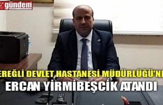 EREĞLİ DEVLET HASTANESİ MÜDÜRLÜĞÜ'NE...