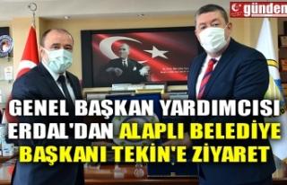 GENEL BAŞKAN YARDIMCISI ERDAL'DAN ALAPLI BELEDİYE...