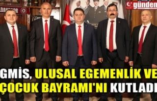 GMİS, ULUSAL EGEMENLİK VE ÇOCUK BAYRAMI'NI...