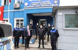 ZABITALARDAN POLİSLERE KUTLAMA ZİYARETLERİ