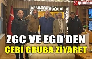 ZGC VE EGD' DEN ÇEBİ GRUBA ZİYARET