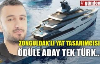 ZONGULDAK'LI YAT TASARIMCISI ÖDÜLE ADAY TEK...