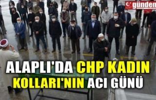 ALAPLI'DA CHP KADIN KOLLARI'NIN ACI GÜNÜ