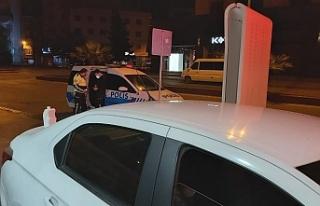 ALKOLLÜ SÜRÜCÜ POLİSE YAKALANDI