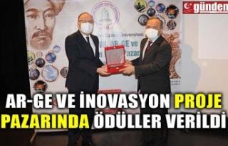AR-GE ve İnovasyon Proje Pazarında ödüller verildi