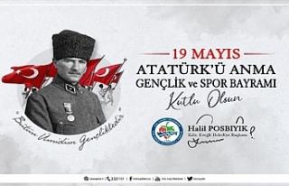 BAŞKAN POSBIYIK, 19 MAYIS ATATÜRK'Ü ANMA GENÇLİK...