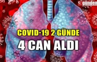 COVID-19 2 GÜNDE 4 CAN ALDI