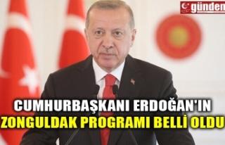 CUMHURBAŞKANI ERDOĞAN'IN ZONGULDAK PROGRAMI...
