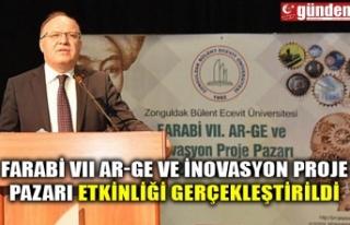 FARABİ VII AR-GE VE İNOVASYON PROJE PAZARI ETKİNLİĞİ...