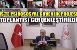 İŞ'TE PSİKOSOSYAL GÜVENLİK PROJESİ TOPLANTISI...