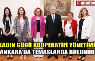 KADIN GÜCÜ KOOPERATİFİ YÖNETİMİ, ANKARA'DA...