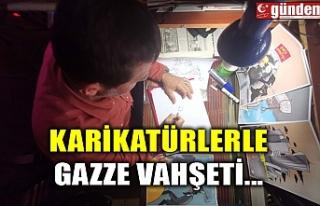 KARİKATÜRLERLE GAZZE VAHŞETİ...