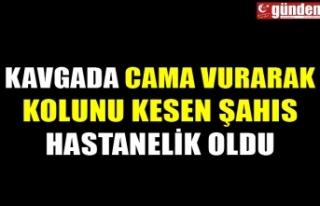 KAVGADA CAMA VURARAK KOLUNU KESEN ŞAHIS HASTANELİK...
