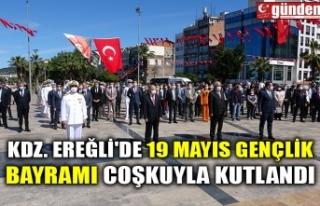 KDZ. EREĞLİ'DE 19 MAYIS GENÇLİK BAYRAMI COŞKUYLA...