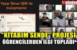 """""""KİTABIM SENDE"""" PROJESİ ÖĞRENCİLERDEN..."""