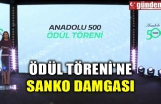 ÖDÜL TÖRENİ'NE SANKO DAMGASI