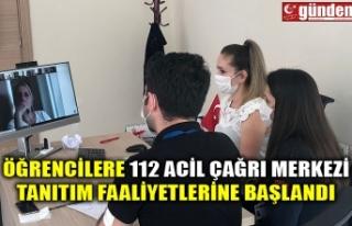 ÖĞRENCİLERE 112 ACİL ÇAĞRI MERKEZİ TANITIM...