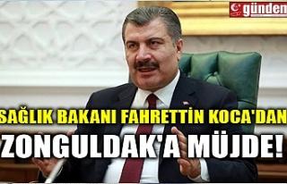 SAĞLIK BAKANI FAHRETTİN KOCA'DAN ZONGULDAK'A...
