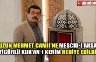 UZUN MEHMET CAMİİ'NE MESCİD-İ AKSA FİGÜRLÜ...