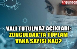 VALİ TUTULMAZ AÇIKLADI: ZONGULDAK'TA TOPLAM...