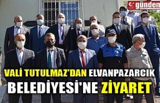 VALİ TUTULMAZ'DAN ELVANPAZARCIK BELEDİYESİ'NE...