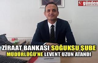 ZİRAAT BANKASI SOĞUKSU ŞUBE MÜDÜRLÜĞÜ'NE...