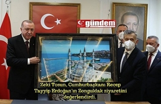 AK Parti İl Başkanı Zeki Tosun, Cumhurbaşkanı...