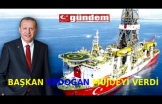 Başkan Erdoğan'dan 135 milyar metreküplük doğalgaz...