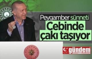 Başkan Erdoğan'ın 'doğal makas'ı