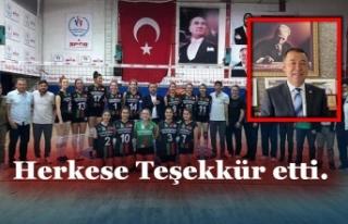 Çaydeğirmeni Belediyespor'da şampiyonluk sevinci...