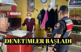 DENETİMLER BAŞLADI
