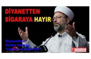 Diyanet İşleri Bakanı Zonguldak'ta vaaz verecek